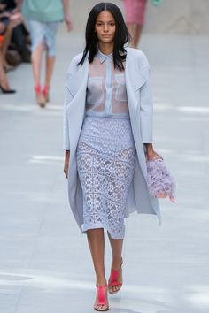 Burberry Prorsum Spring 2014 RTW - Runway Photos - Fashion Week - Runway, Fashion Shows and Collections - Vogue
