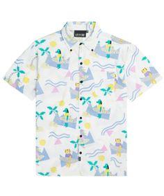 3bf41f0c1bd3 lazy oaf Surf Shirt, T Shirt, Boys Shirts, Men s Shirts, Textiles,