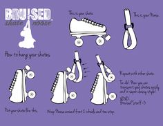 How to hang your skates!