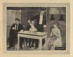 "miwi1010:               The Uneasy Three (USA,1925) http://www.imdb.com/title/tt0016471/    @   Kittyinva: This still is interesting for many ""vintage"" reasons! First my eye went to her dress and shawl, and that lovely evening headband (enlarge for a better look!) Next of interest was the 1920′s kitchen and finally the cake. If any of my followers are food historians, this is a nice shot!"