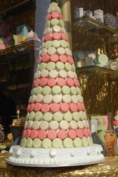 Laduree macaron tower!