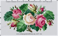Cross Stitch Tree, Cross Stitch Borders, Cross Stitch Flowers, Cross Stitch Charts, Cross Stitch Designs, Cross Stitch Embroidery, Cross Stitch Patterns, Crochet Bedspread Pattern, Christmas Embroidery Patterns
