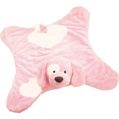 Gund Spunky Comfy Cozy Pink Puppy Blanket by Gund. $24.99. Gund Spunky Comfy Cozy Pink Puppy Blanket Polyester Blend Pink puppy with white eye patch Satin lining underside  24in H x 21.5in W x 6in L Introduction: 2005. Save 28% Off!