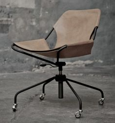 ergonomic chair with minimalist design