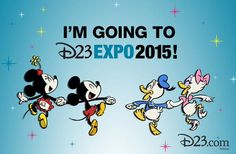 Share this if we'll be seeing you at #D23EXPO!