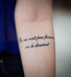 31 Meilleures Images Du Tableau Tatouage Citation Female Tattoos