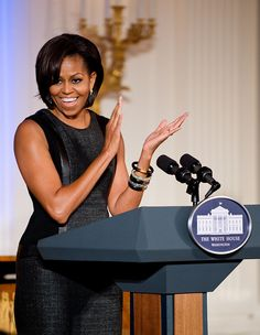 Michelle Obama by noamgalai, via Flickr