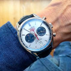 Carrera Chronometer Calibre 17 by Tag Watches, Watch Master, Luxury Watches For Men, Tag Heuer, Carrera, Omega Watch, Pasta, Accessories, Clocks