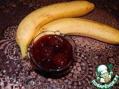 Клубничное варенье с бананом