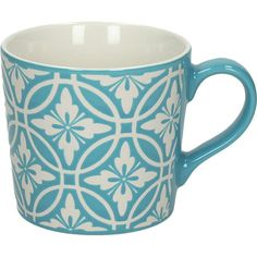 Enjoy your morning coffee or afternoon cup of tea in style with this ceramic mug, featuring an elegant design. Product: Mug ...