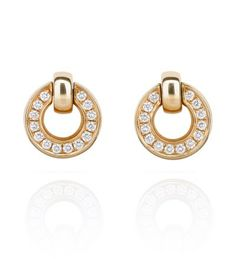 An intricate flip set of earrings from the Boodles Roulette collection. White Gold Diamond Earrings, Diamond Studs, White Gold Diamonds, Diamond Jewelry, Rose Gold, Boodles, Beautiful Earrings, Women's Earrings, Chain Jewelry