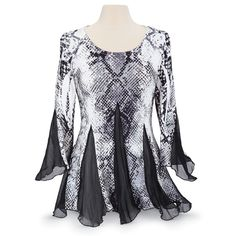 Illusion Tunic Top - Women's Clothing & Symbolic Jewelry – Sexy, Fantasy, Romantic Fashions