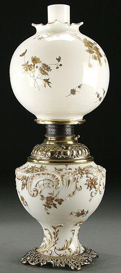 Lot:554: A MT. WASHINGTON VICTORIAN TABLE LAMP circa 1880, Lot Number:554, Starting Bid:$700, Auctioneer:Jackson's Auction, Auction:554: A MT. WASHINGTON VICTORIAN TABLE LAMP circa 1880, Date:05:00 AM PT - Dec 15th, 2005