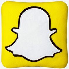 Snapchat Pillow