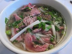 Pho. Craving some right now actually!