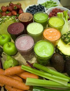 If you had a heavy night don't binge on junk food today. Get back on track with these juice recipes...