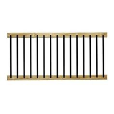 WeatherShield 2 in. x 4 in. x 4 ft. Premium Ground Contact Pressure-Treated Lumber-274324 - The Home Depot Deck Railing Kits, Deck Railings, Stair Railing, Stairs, Deck Gate, Loft Railing, Balcony Railing, Loafing Shed, Deck Posts