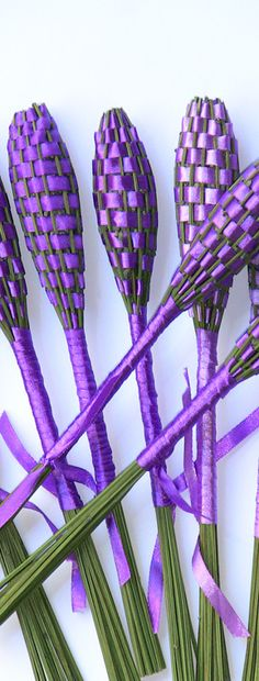 Lavender wands to scent your room or clothes.