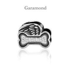 4b5e36999 So precious! This dog memorial bead fits on a Pandora style bracelet ...