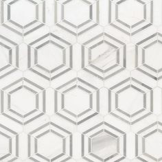 MSI Georama Marble Mosiac Tile | Wayfair