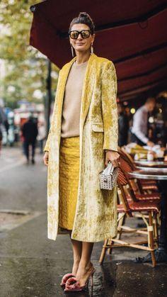 Ideas Fashion Week Paris Street Style Giovanna Battaglia For 2019 Fashion Mode, Look Fashion, Paris Fashion, Fashion Outfits, Fashion Trends, Fashion Weeks, Fashion Glamour, Fashion Editor, Funky Fashion