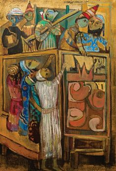 Doll Show II, 2010 - Omar El Nagdy (b. 1931)