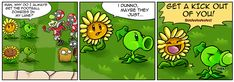 Punny Sunny - Plants vs Zombies - 4 by Nestly.deviantart.com on @DeviantArt