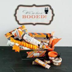 Halloween Boo Sign Printables  {Halloween Printables}