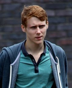 Jamie Borthwick who plays Jay Brown in Eastender's seen leaving BBC Elstree Studios with what appears to be either a bruise near his eye or makeup. - Jamie Borthwick in London Eastenders Cast, Hollyoaks, Ginger Men, Soap Stars, Tv Soap, Celebs, Celebrities, Celebrity Crush, Cute Guys
