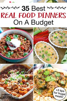 best healthy dinners on a budget tips for frugal meals!), 35 best healthy dinners on a budget tips for frugal meals!), 35 best healthy dinners on a budget tips for frugal meals! Healthy Recipes On A Budget, Cooking On A Budget, Whole Food Recipes, Dinner Recipes, Simple Recipes, Family Recipes, Cheap Recipes, Frugal Recipes, Low Carb Recipes