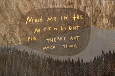 Meet me in the moonlight for there's not much time. (original art by Rebecca Green) Carla Tsukinami, Rebecca Green, All The Bright Places, Ex Machina, Pretty Words, Grafik Design, Entp, At Least, Love You