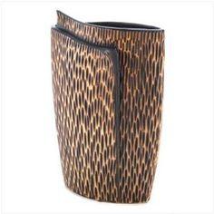 Safari Vase, $37.99 by Furniture Creations.