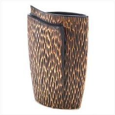 Safari Vase, $37.99 by Furniture Creations.
