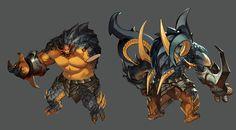ArtStation - royal blood monster, Victor Bang