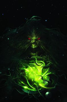 DC Comics. Comic Book Artwork • Swamp Thing by Francesco Mattina. Follow us for more awesome comic art, or check out our online store www.7ate9comics.com Comic Book Artists, Comic Books Art, Comic Art, Superhero Images, Justice League Dark, Joker Wallpapers, Dc Comics Art, True Nature, Comic Covers