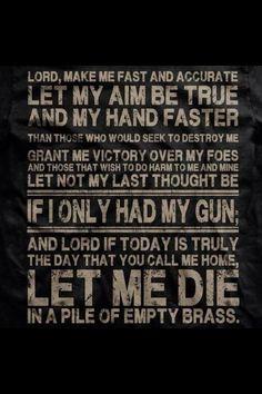 gun saying