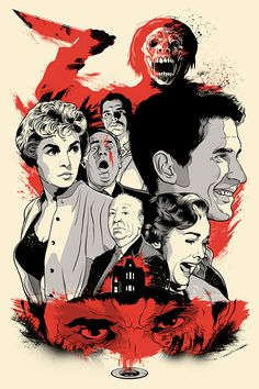 Alfred Hitchcock's classic horror film Psycho