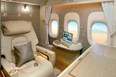 Emirates' all-new luxury first class suite. Nov 2017 Emirates' all-new luxury first class suite.