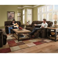 Found it at Wayfair - Dynasty Double Motion Sofa