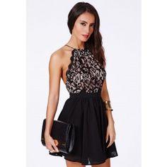 Desaree Backless Puffball Mini Dress - Dresses - Mini Dresses - Missguided   Ireland