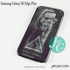 Triangle Wolf Art Phone case for Samsung Galaxy S6 Edge Plus And Other Samsung Galaxy Devices