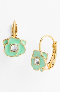 kate spade new york 'rose garden' drop earrings available at #Nordstrom