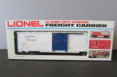 New? Lionel 6-9444 Louisiana Midland Boxcar 9444