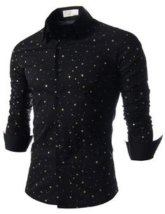 "The ""Galaxy"" Stretchy Dress Shirt – Tattee Boy Clothes Fashion Moda, Daily Fashion, Mens Fashion, Fashion Outfits, Cool Shirts, Casual Shirts, Sweater Shirt, Dress Shirt, Men's Business Outfits"