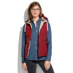 Penfield® Lucedale Puffy Vest... the pacific northwest makes me wanna dress like a lumber jack at all times.