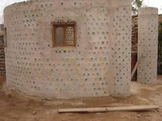 House Built from Plastic and Glass Bottles http://www.odditycentral.com/pics/bottle-house-built-in-mexico.html