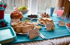 Dr. Suess party foods