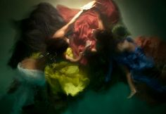 • Кристи Ли Роже - подводная живопись (10фото) - Сундук хороших фотографий Лучшие фотографы Мира