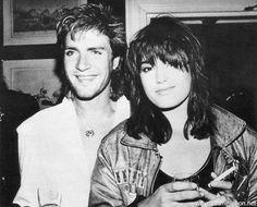 Simon & Yasmin Le Bon 1984 Thompson Twins party