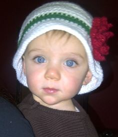 Toddler Christmas hat